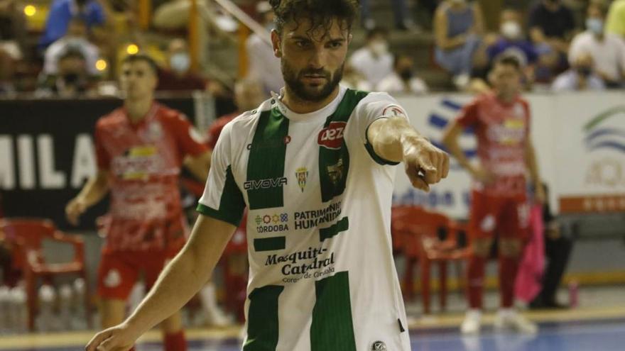 Zequi, otra importante renovación para el Córdoba Futsal