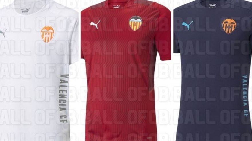 Filtran también cómo será la ropa de entrenamiento del Valencia 21/22