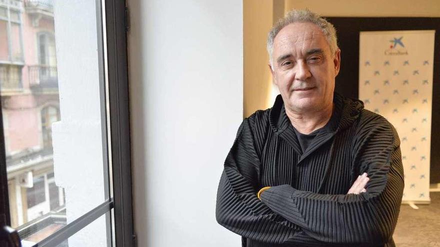 """Ferran Adrià: """"Si mañana hay una huelga de cocineros, el 38% del PIB se va a tomar por saco"""""""