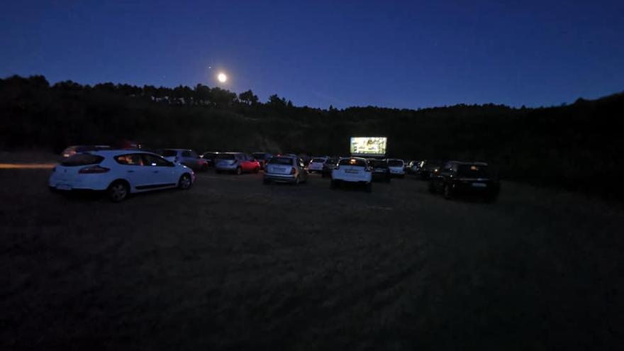 El autocine aparca en Pontevedra