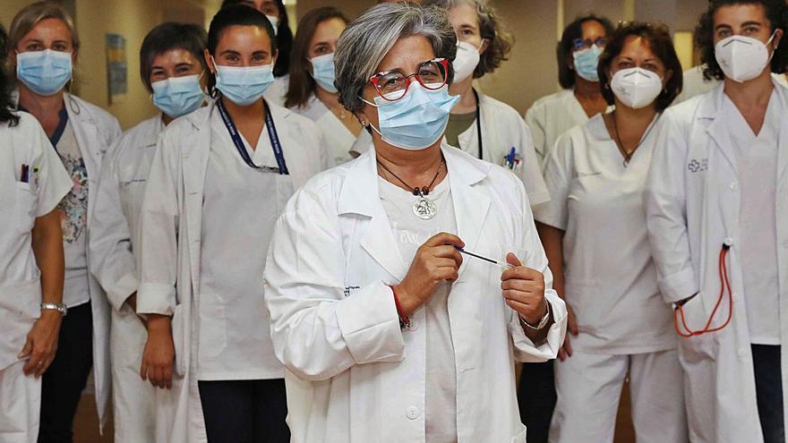 """Carmen Durán, jefa de servicio del centro de salud de Lavadores: """"Tenemos un problema organizativo: necesitamos una administración fuerte"""""""