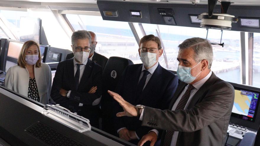 Baleària presenta el primer fast ferry del mundo con motores a gas natural