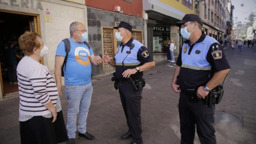 El 'reto Covid' de la Policía