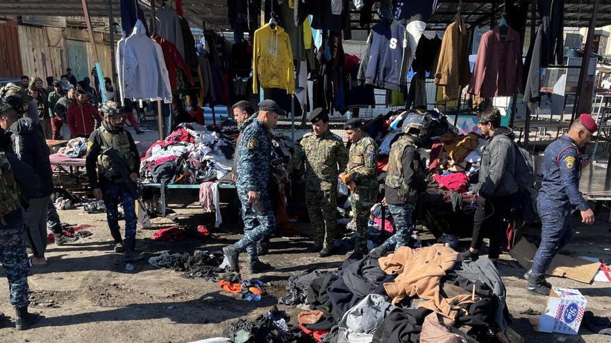 Al menos 28 muertos en un ataque terrorista en el centro de Bagdad