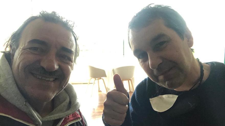 Javi Olleros, orgullo meco