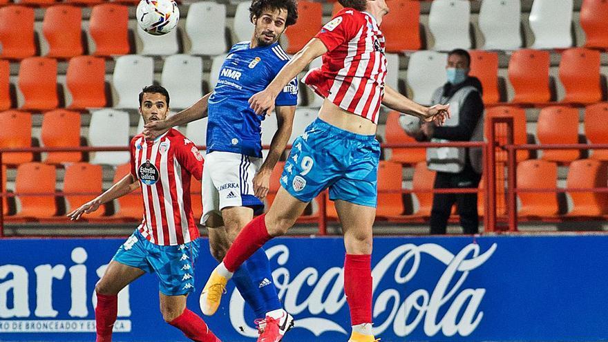 El Lugo-Oviedo en cinco claves: rotaciones y brotes verdes