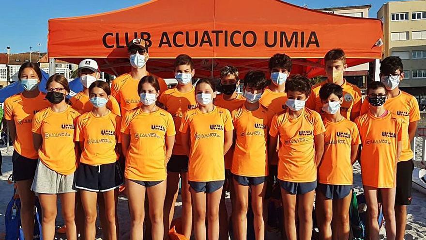 Lidia Aboy, del CA Umia, campeona de España cadete