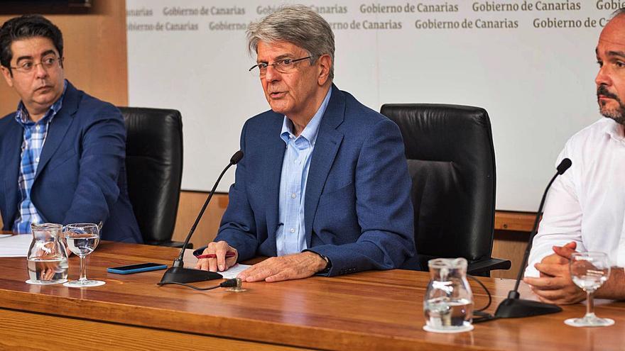 Martín pide a Valbuena que asuma el sí a Fonsalía de Parlamento y Gobierno canario