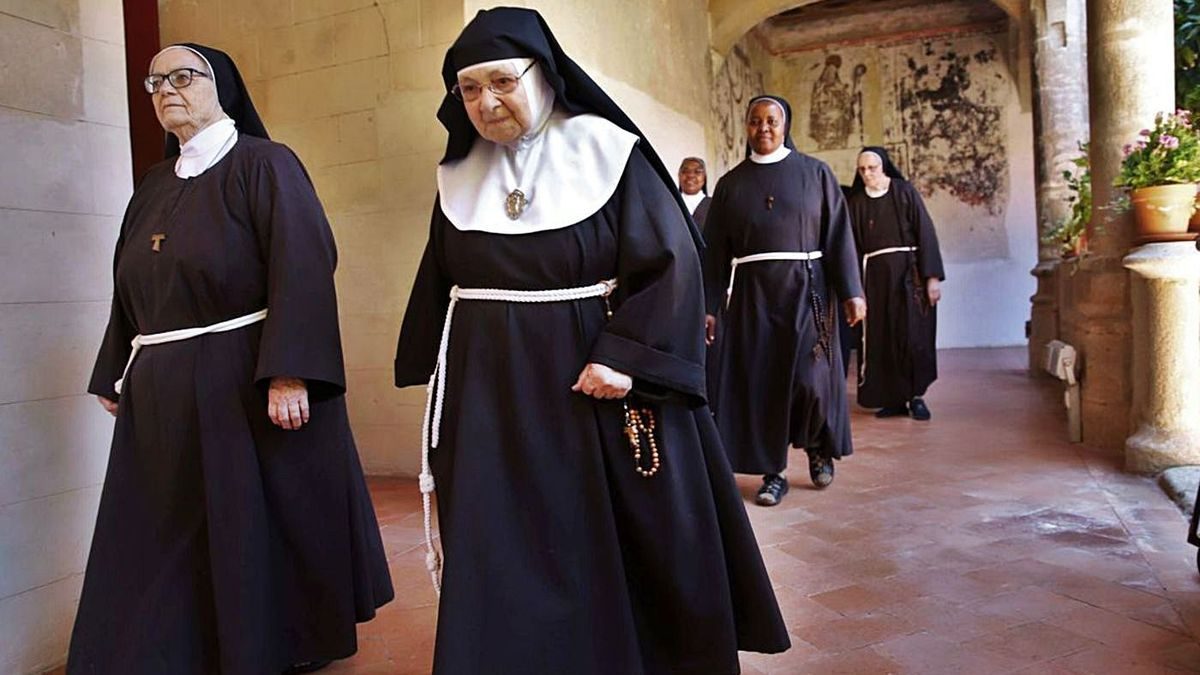 Las hermanas clarisas preparan un libro sobre esos bienes que fueron incautados al convento.