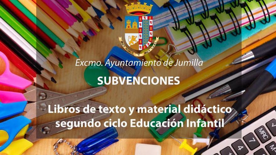 El Ayuntamiento de Jumilla aprueba ayudas para la compra de libros