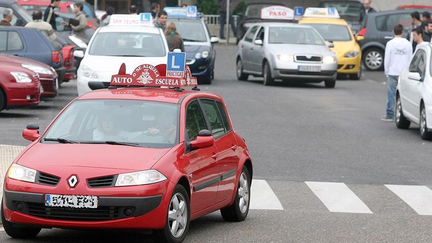 Abortado un intento de 'cambiazo' de identidades en un examen de conducir en Vigo