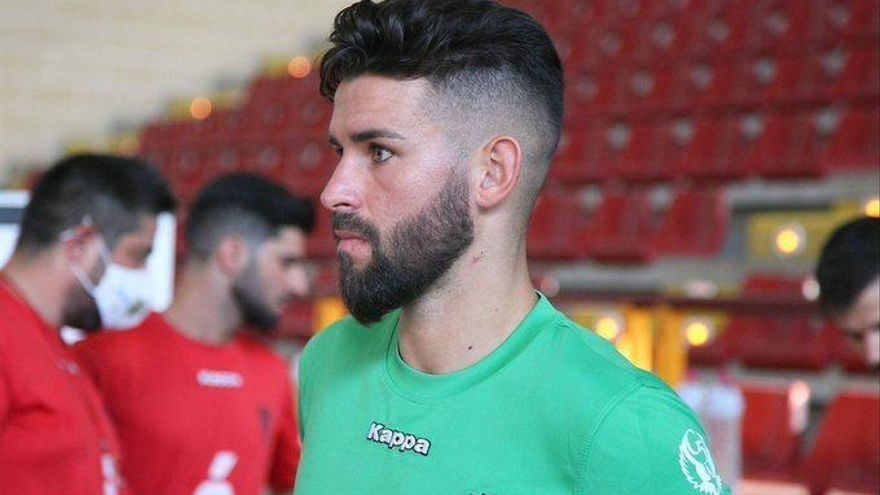 Álex Constantino, paso fugaz por el Córdoba Futsal