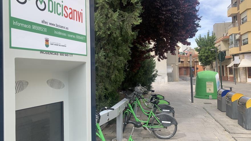 San Vicente entra en el circuito de la Red de Ciudades por la Bicicleta y abrirá una nueva estación
