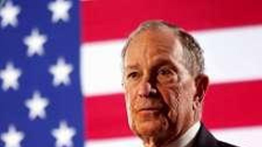Bloomberg entra al fin en campaña