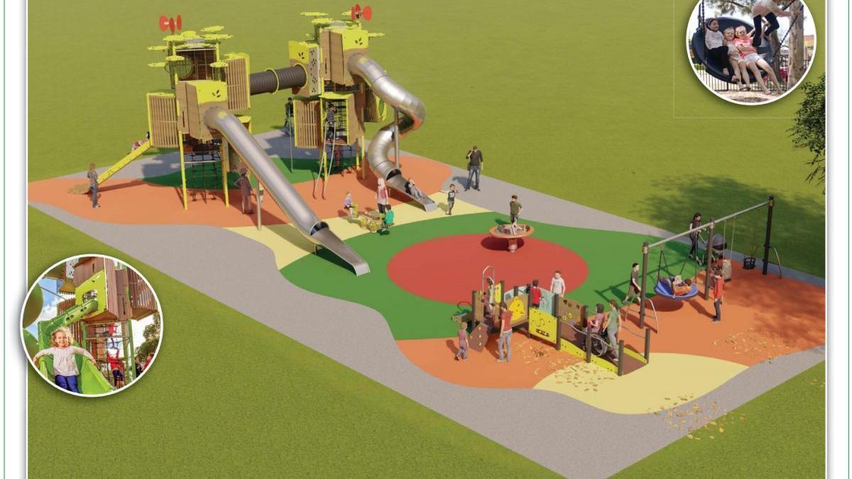 Nuevo parque infantil para Nueva Málaga