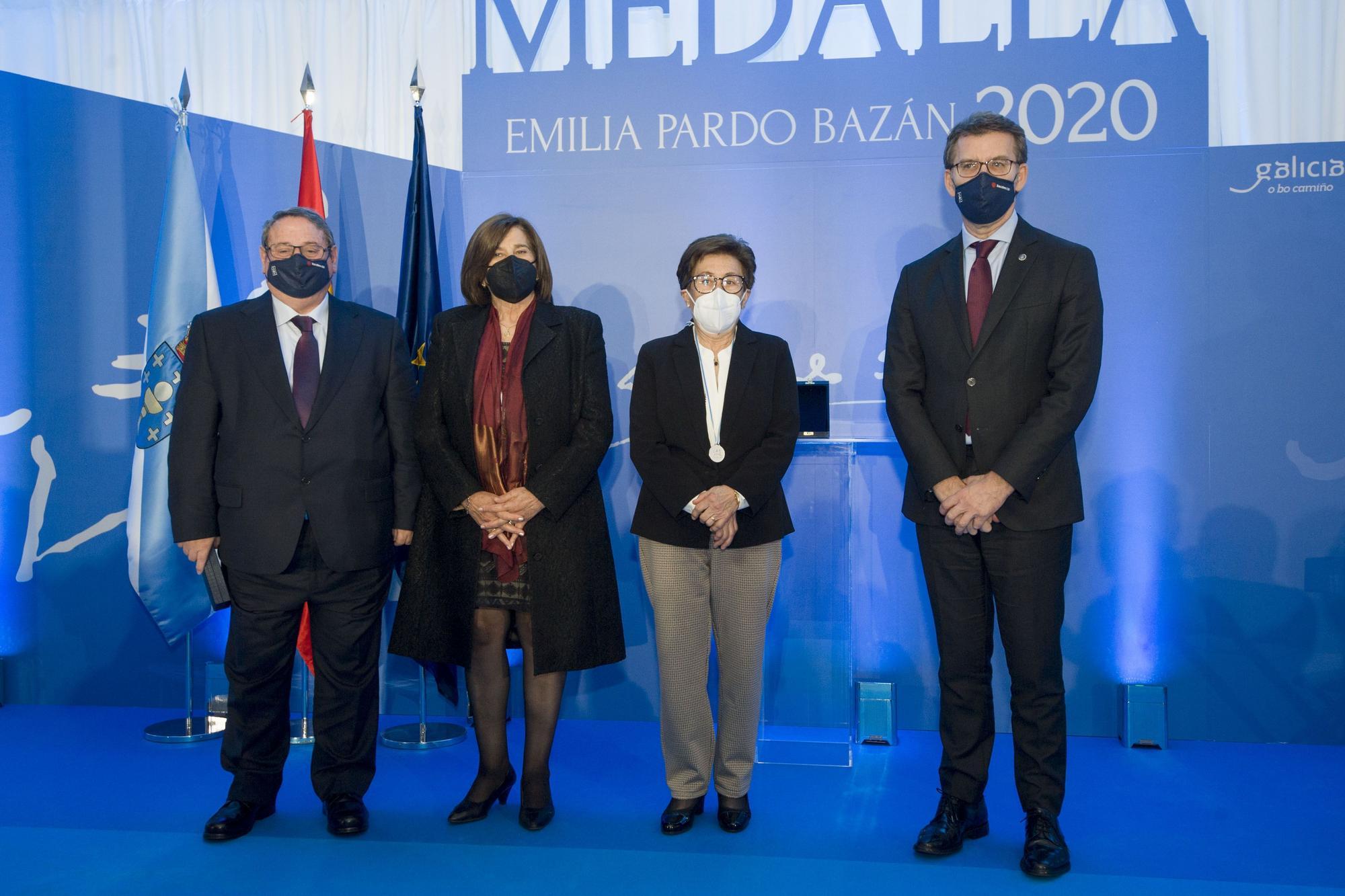 Entrega de Medallas Medallas Emilia Pardo Bazán