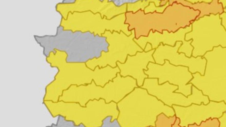 Extremadura alcanza este jueves temperaturas de hasta 38 grados