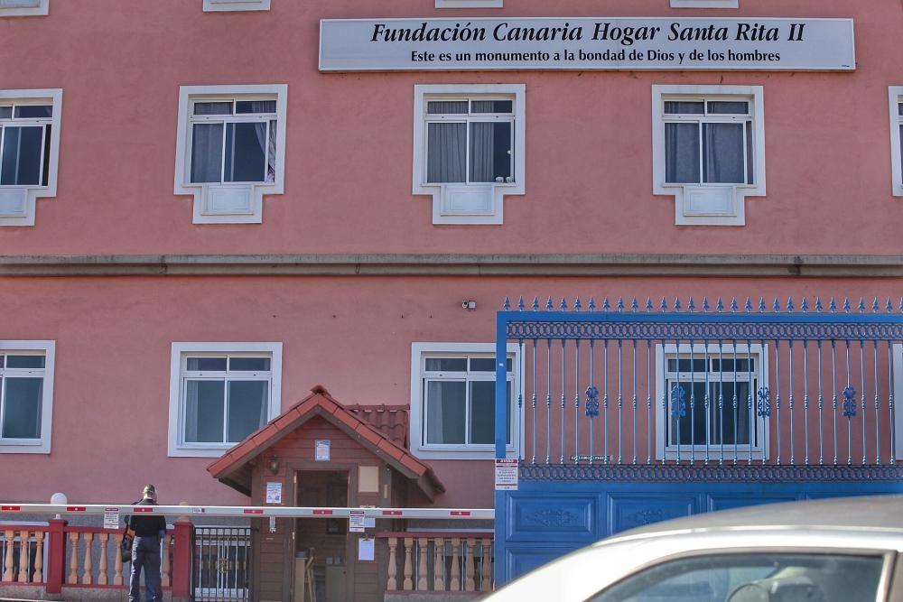 Residencia Santa Rita, en Puerto de la Cruz, afectada por Coronavirus   30/03/2020    30/03/2020   Fotógrafo: María Pisaca Gámez
