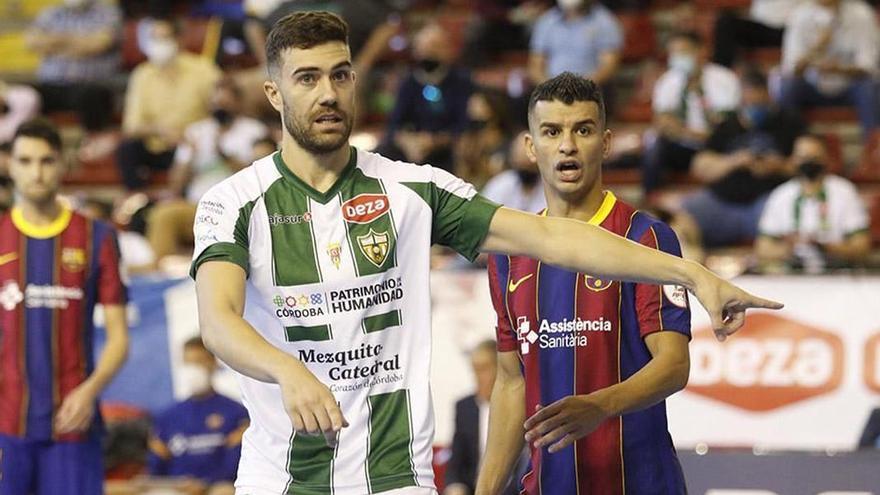 El Córdoba Futsal se chequea ante el Barça
