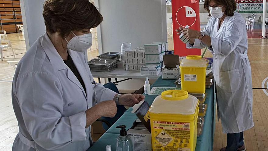 La vacunación en el área de salud de Sagunt se traslada desde el martes al Port