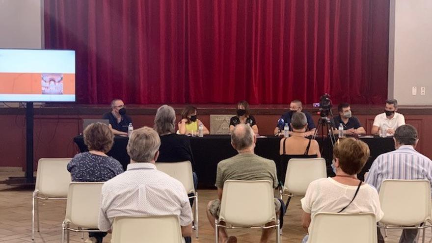 L'Ajuntament de Castelló presenta el procés participatiu per a escollir el millor projecte per a la Sala Municipal