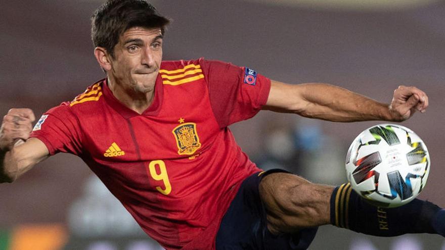 Gerard Moreno habla sobre la titularidad en la delantera de España