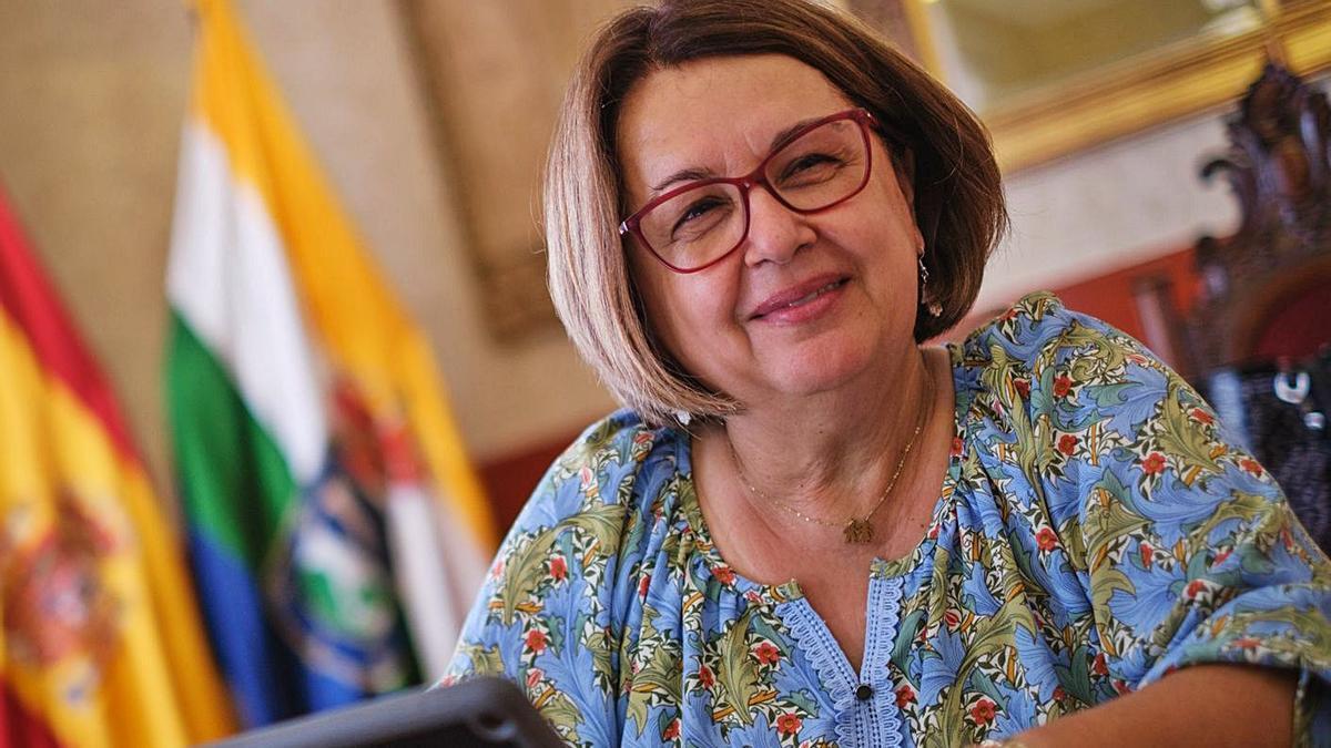 Josefa Mesa Mora, alcaldesa de Guía de Isora.