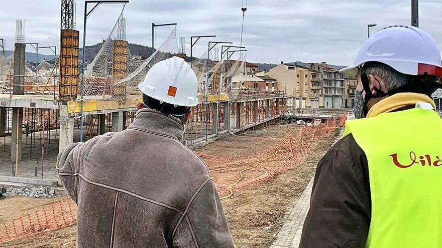 Solsona adequarà l'entorn de la nova escola amb un aparcament i un parc