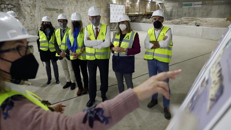La Junta espera ejecutar el museo junto a las vías del metro de Málaga antes de que llegue al Centro