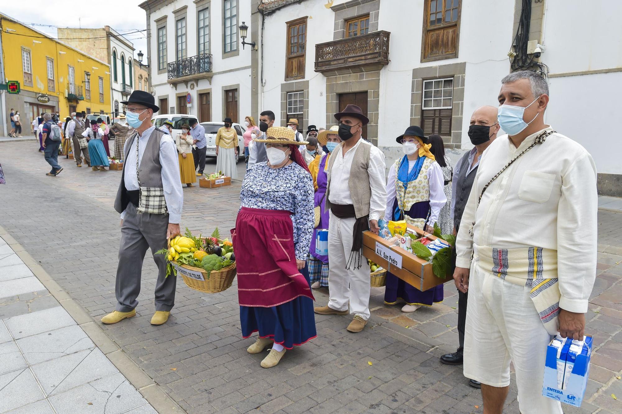 Ofrenda a San Juan en Telde (24/06/2021)