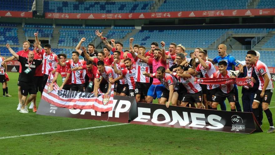 Miguel Santos asciende a Segunda División