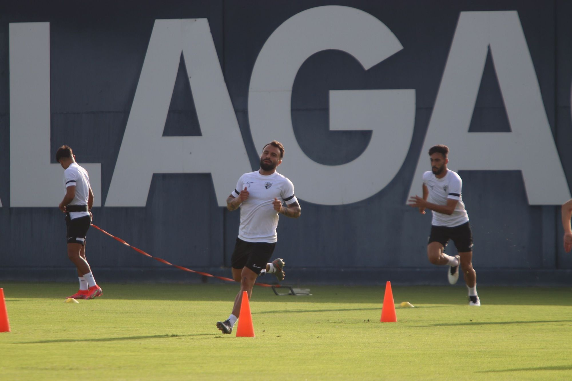 Entrenamiento del Málaga CF de este jueves 12 de agosto