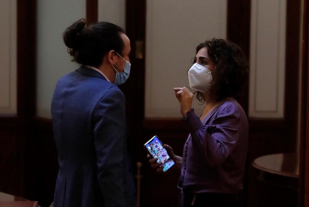 Sánchez da cuenta de la pandemia en el Congreso ...