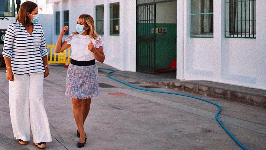 Arrecife mejora instalaciones de los colegios de Titerroy y Altavista con ayuda del Cabildo