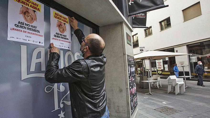 Solo la mitad de los negocios de la hostelería recibe ayudas tras un año de pandemia