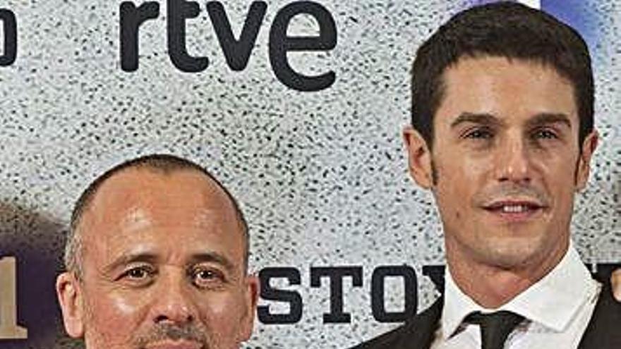 RTVE renueva la serie 'Estoy vivo', protagonizada por el ferrolano Javier Gutiérrez
