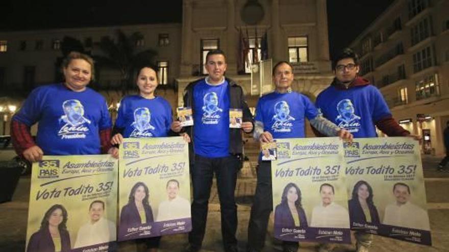 Gandia también decide en Ecuador