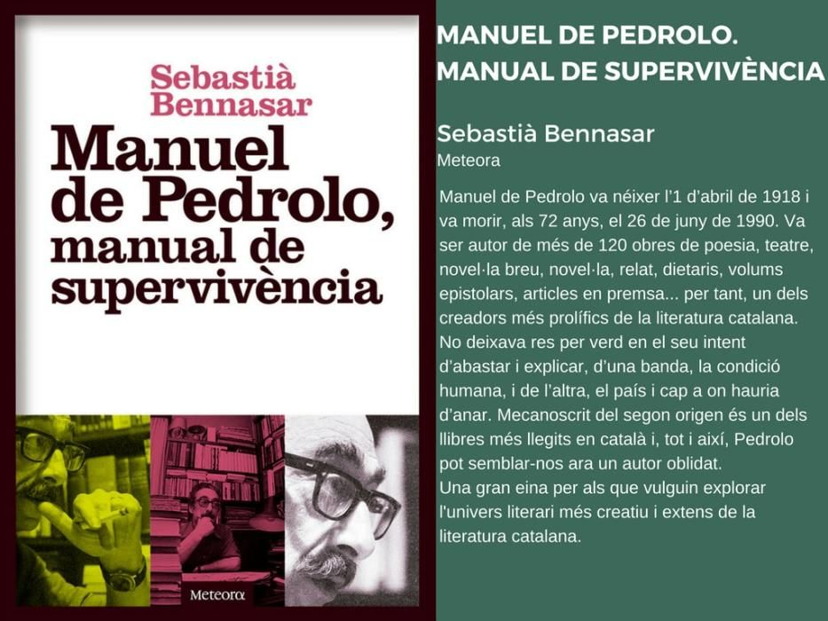 Novetats Editorials Sant Jordi 2018