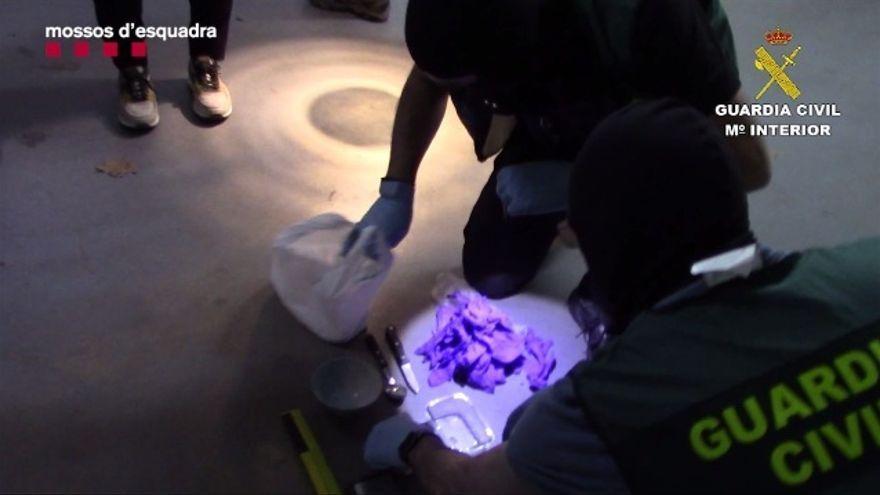 Golpe al narcotráfico: detenidas 29 personas  en Lleida con más de un millón y medio de euros en dinero y droga