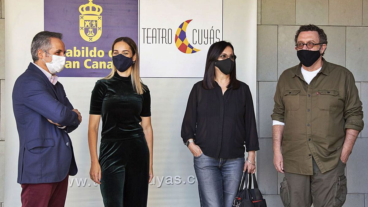 El Cuyás estrena  el documental 'Pedro Lezcano: relato de vida'