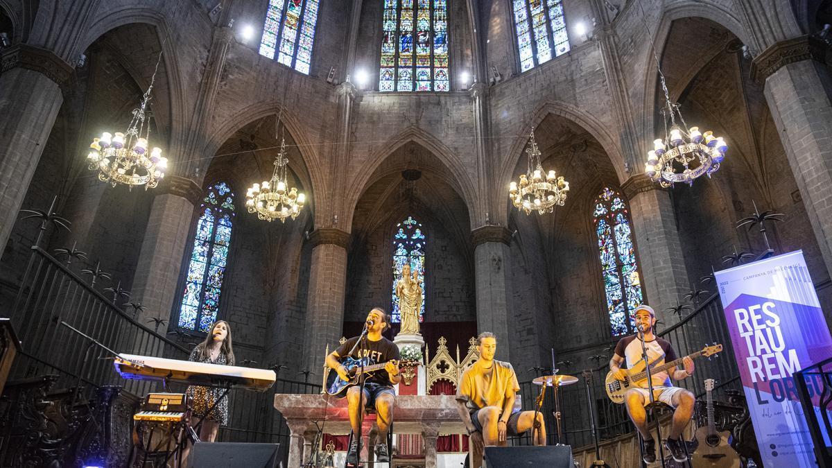 Les cançons d'Arlet es van sentir a la basílica de la Seu