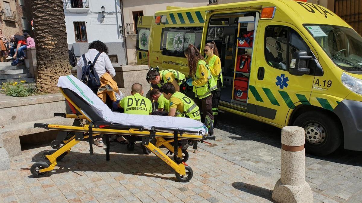 DYA Extremadura atiende a diez personas en Cáceres durante el Domingo de Ramos