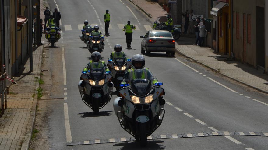 Zamora, tomada por la Guardia Civil de Tráfico