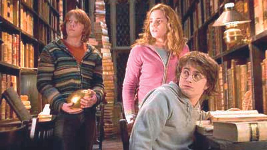 Un fotograma de 'Harry Potter y el Cáliz de Fuego'
