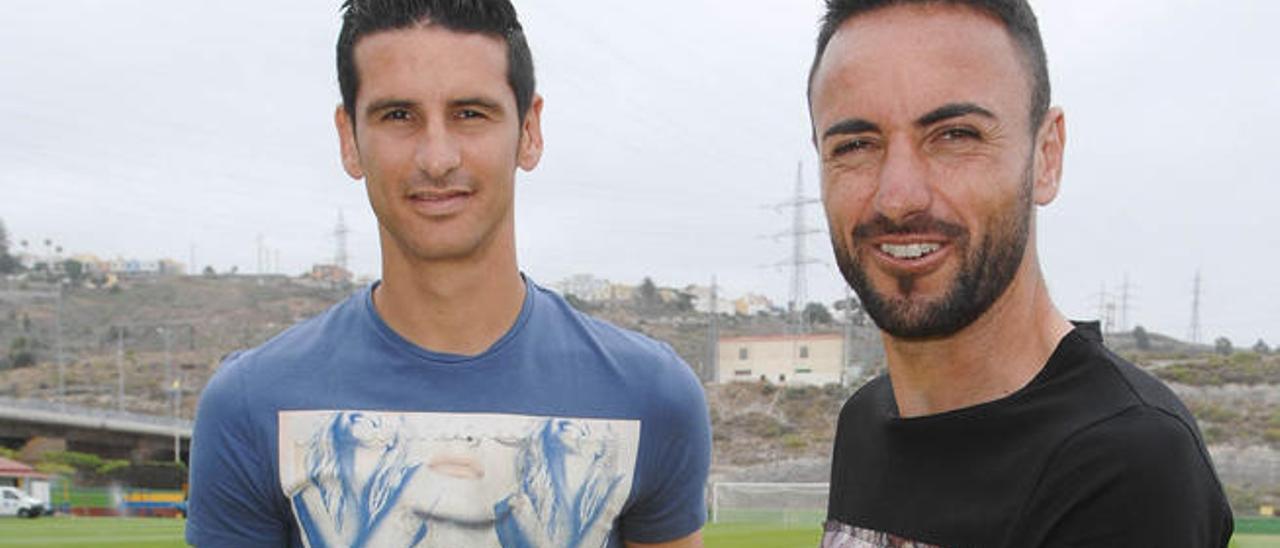 Momo y Vicente,  goleadores en Zorrilla con pleno en la promoción