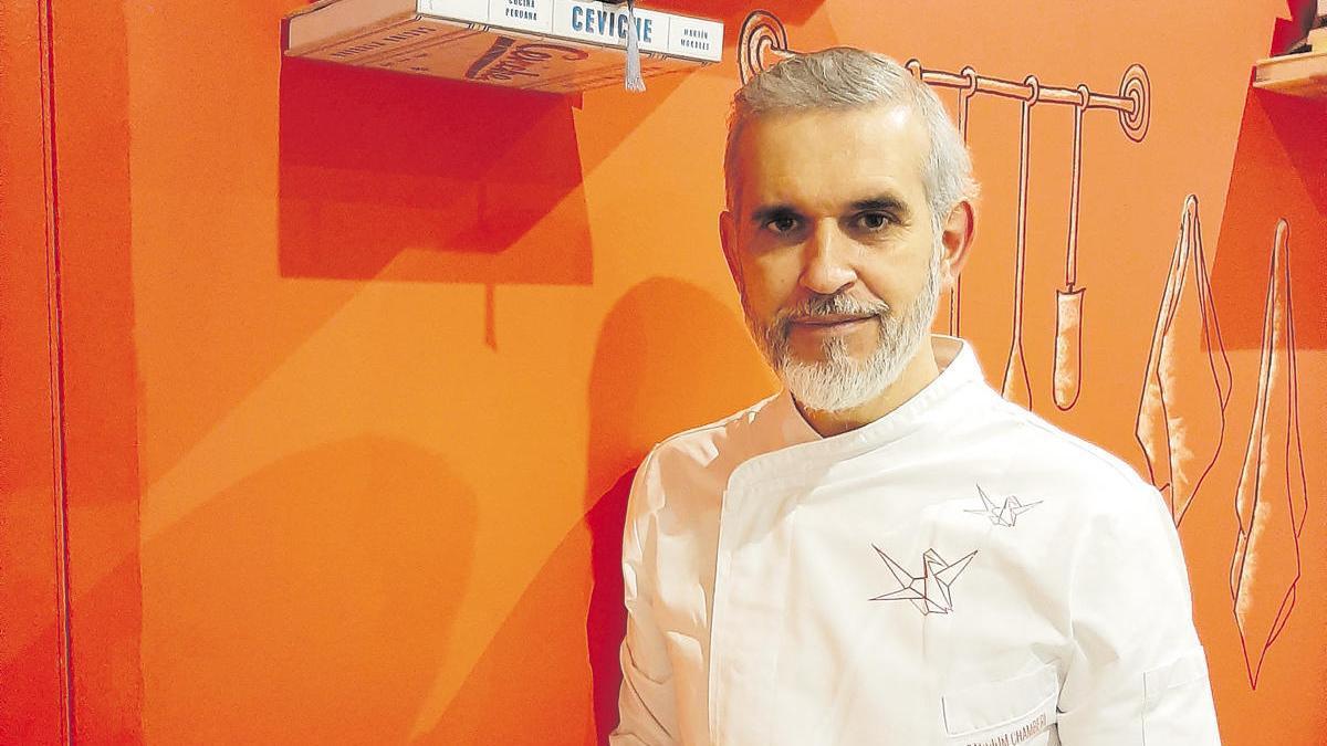 El chef Juan Carlos Peñas.