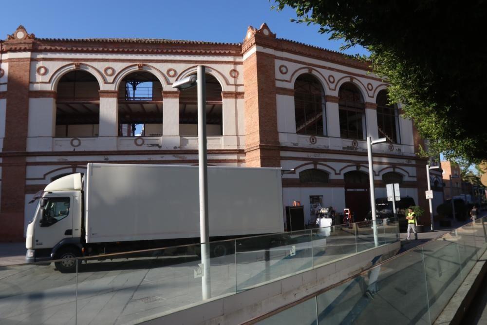 Comienza el rodaje de la serie 'Genius' sobre Picasso en Málaga.