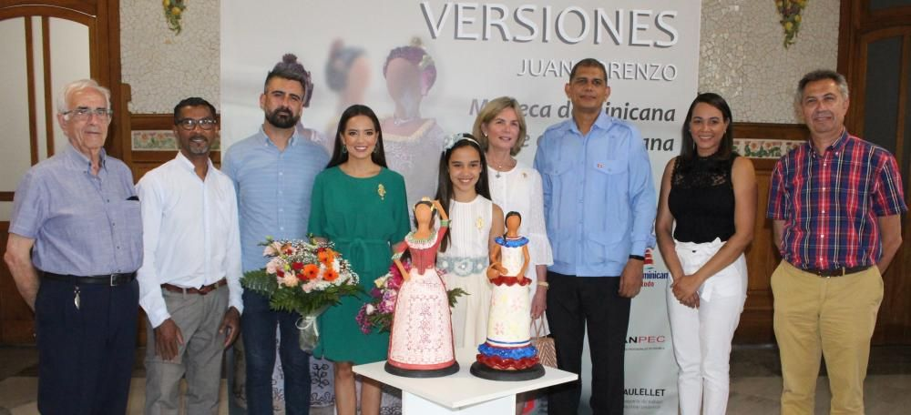 """La """"Muñeca sin Rostro"""" dominicana en versión fallera"""