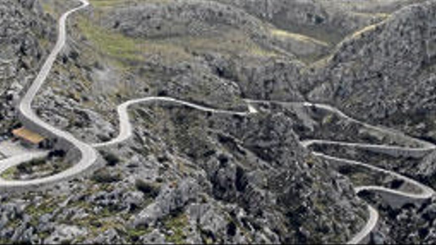 El Nus de sa Corbata, una de las carreteras más sorprendentes del planeta