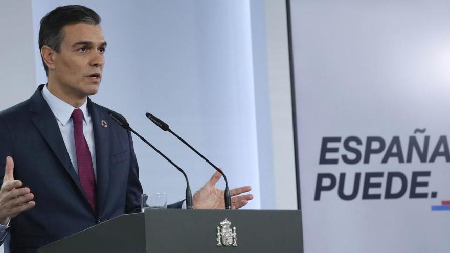 Sánchez esgrime la Constitución ante las protestas
